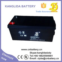 12v 200ah rechargeable deep cycle solar panel battery China manufucturer