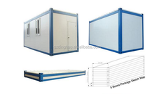 Guangzhou nice design low cost 40ft container house