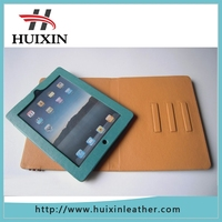 Removable leather flip cover case for tablet , Rotating table case for ipad air