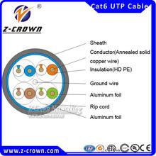 cat6 copper fluke passed network cable RJ45 cat6 definition of UTP
