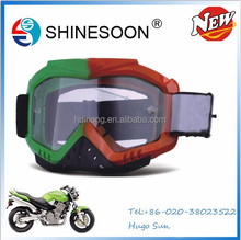 China wholesale professional outdoor motocross eyewear windproof motorcycle goggles Fashion goggles motorcycle