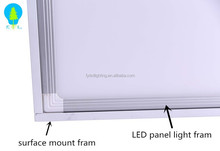 5 years warranty PMMA led panel light 40w dimming 600x600 5000K daylight with Aluminum fram