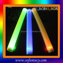 New LED Foam Stick with 8 light models/LED Foam Flashing Light Stick/LED Foam Glow Sticks China Manufacturer