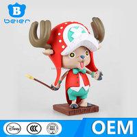 OEM one piece action figure, tony tony chopper toy, custom anime figure toys