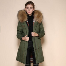 Chinese Clothing Manufacturers women OEM Winter coat Outdoor Padded Parkas