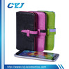 2014 newly candy color wallet Leather cases for mobile,for samsung galaxy s5 case