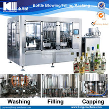 Automatic Whisky Wine Bottling Machine price cost