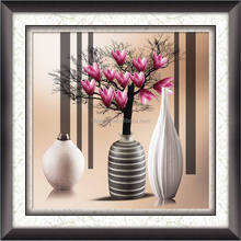 Still life flowers for home decoration diamond painting mosaic picture