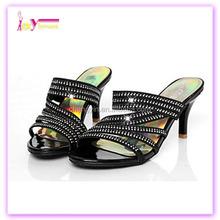 alibaba women's shoes stiletto heel open toe sandals office & career dress black gold lady diamond high heel shoe china wholesal