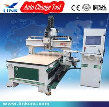 1325 high quatily Auto tool change cnc milling machine frame / 3 axis cnc controller