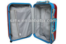ABS+PC hard travel trolley case/ABS hard suitcase