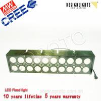 Waterproof alumium led strip light 150w for car park lighting