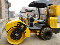 Single Drum LSS203 3Ton Small Asphalt Vibratory Road Roller For Sale
