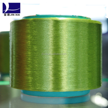 100%polyester dope dyed yarn for knitting