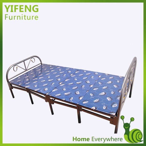 Wholesale Cheap Single Metal Folding Bed With Mattress