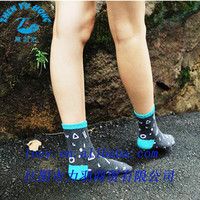 Teen Girl Woven Socks Brand Name/Logo Manufacture, Tailored Smooth Dress