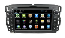 """7"""" 2 din 4-coreandroid 4.4 High-definition screen auto radio car radio/stereo dvd player with gps,3g wifi,mirror link for GMC"""
