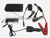 13600mah/15000mah 19v/16v/12v/5v car power bank car jump start from shenzhen factory for car and laptop charging