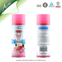 2015 New Product Rose Scented Room Fragrances Air Freshener