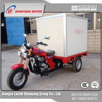 Wholesale products china advertising air cooling engine cargo tricycle with cabin