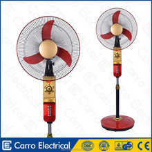 Low price battery operated exhaust fan 16inch recharing fans battery operated air blower fan