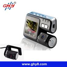 Best Model X6000 3.0Mp HD 720P Loop Recording 330 Rotation IR Night Vision Dual Camera Car Dvr