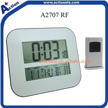 RF 433mhz Wireless Radio Controlled Clock Thermometer