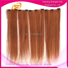 Most Popular Hair Products Can Be Customized Cheap 100% Human Hair Clip In Hair Extension
