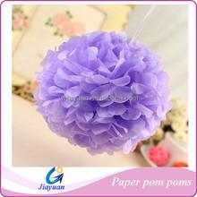 Hanging Tissue Paper Pom Poms POMPOMS Cheap Wedding Decoration
