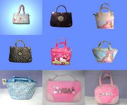 new design fashion promotional metallic pu leather cosmetic bag