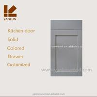 white melamine kitchen cabinet door with straight rail