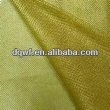 Polyester golden satin fabric for fashion industry