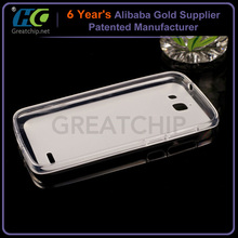 Matte Crystal TPU case for HUAwei Ascend G7/Matte Transparent TPU Phone Case For HUAWEI G7