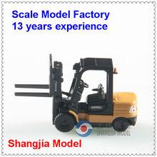 model cars and forklifts,plastic forklift truck model,forklift scale models