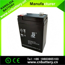 6v4.5ah sealed lead acid UPS battery for elctronic scales, LED light