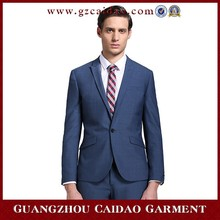 Slim Fit made to order two buttons business suits for mens