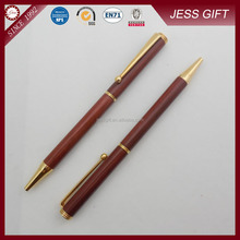Luxury Environmental Red Wood made Ballpoint Pen for promotion gift