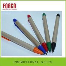 Chinese wooden Advertising recycled refill 1.0/0.7 Promotion ballpoint Wood pen