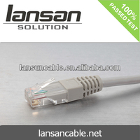RJ45 Patch cord cable cat5e cat6 UTP BC pass fluke test networking