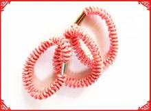 color telephone elastic hairband/ telephone elastic hair ties/telephone hair accessories,