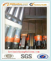 Hot dipped galvanized steel pipe for chain link fence