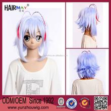 Otoko no Ko Wa Meido Fuku ga Osuki uki light blue wig