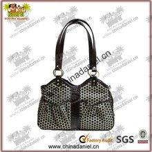 Colorful design good quality dog carrier bag
