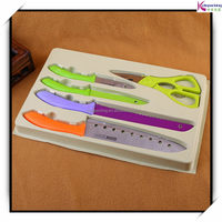 2015 New Products Luxury Package for knife Inner Flocking Tray Box knife tools packaging customised