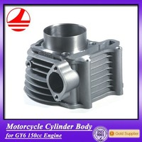 motorcycle factory GY6 150CC cylinder block cheap automatic motorcycle