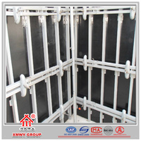 New Style Concrete Scaffolding Framework for Shear Wall Construction
