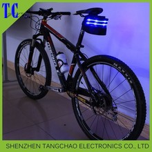 2015 hot sell new product led bicycle bag,bicycle tail package,led bag for bicycle