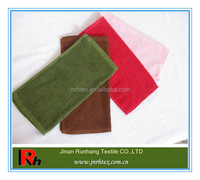 Good water absorption Plain color velour cotton tea towel in Shandong