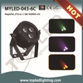 2015 3*6- en- 1 6w especial efecto etapa para discoteca led mini magic uv rgbaw par de luz