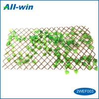 Gardening supplies temporary portable wood expandable fence